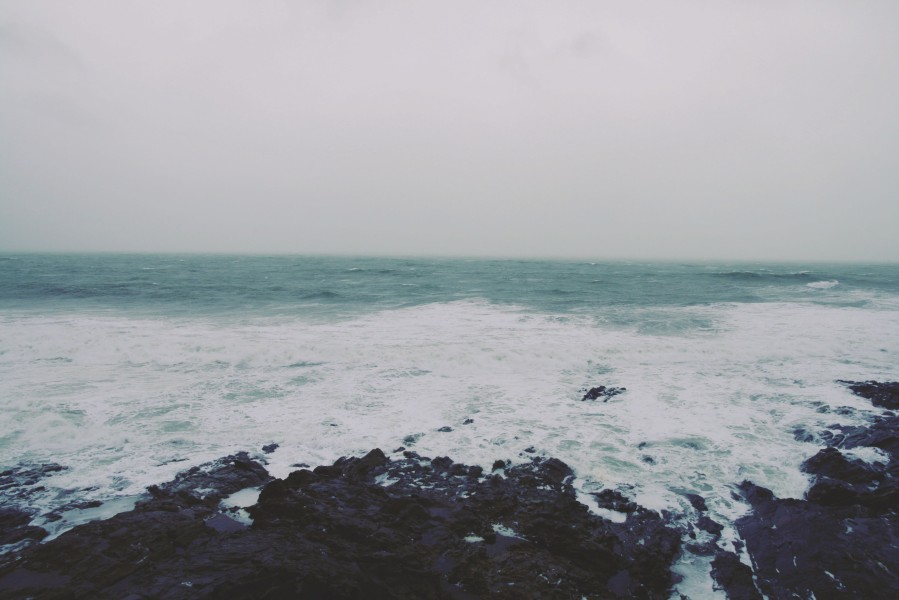 Looking out across the Atlantic from Porthleven Cornwall, travel, blog,