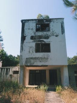 Abandoned building in Necujam, Croatia