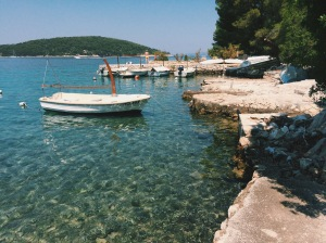 Clear Croatian waters, Necujam