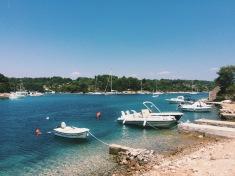 Clear Croatian waters