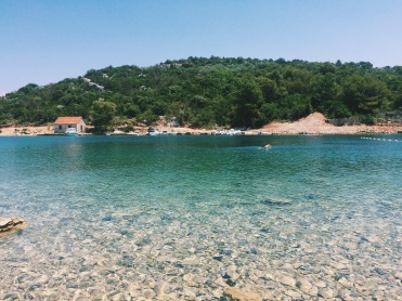 Clear Croatian waters perfect for swimming