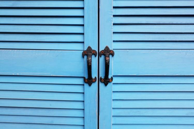 blue-door